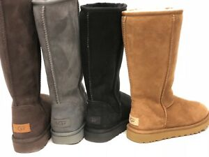 UGG Women's Classic Tall Gray Boots