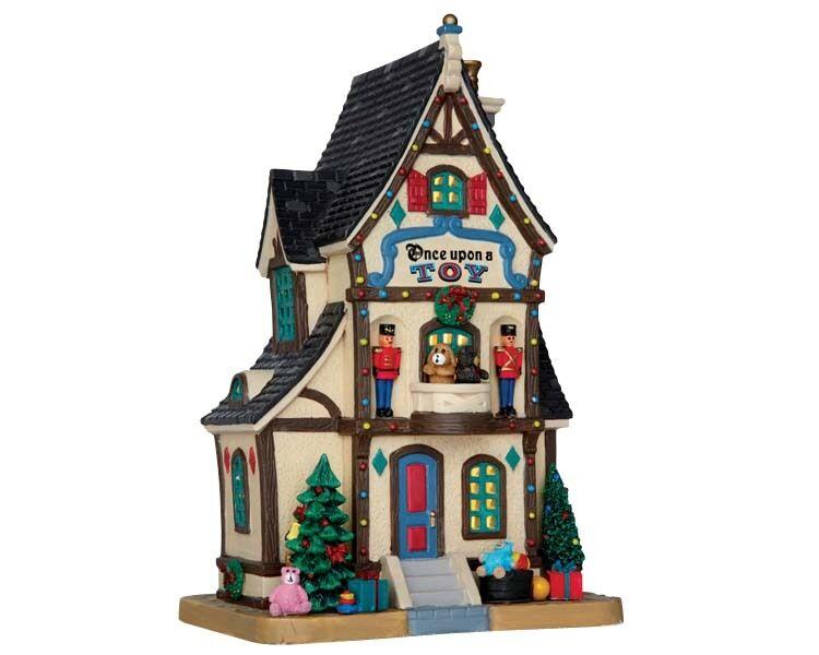 LEMAX ONCE UPON A TOY Weihnachtsdorf Winterdorf Modellbau Porzellanhaus