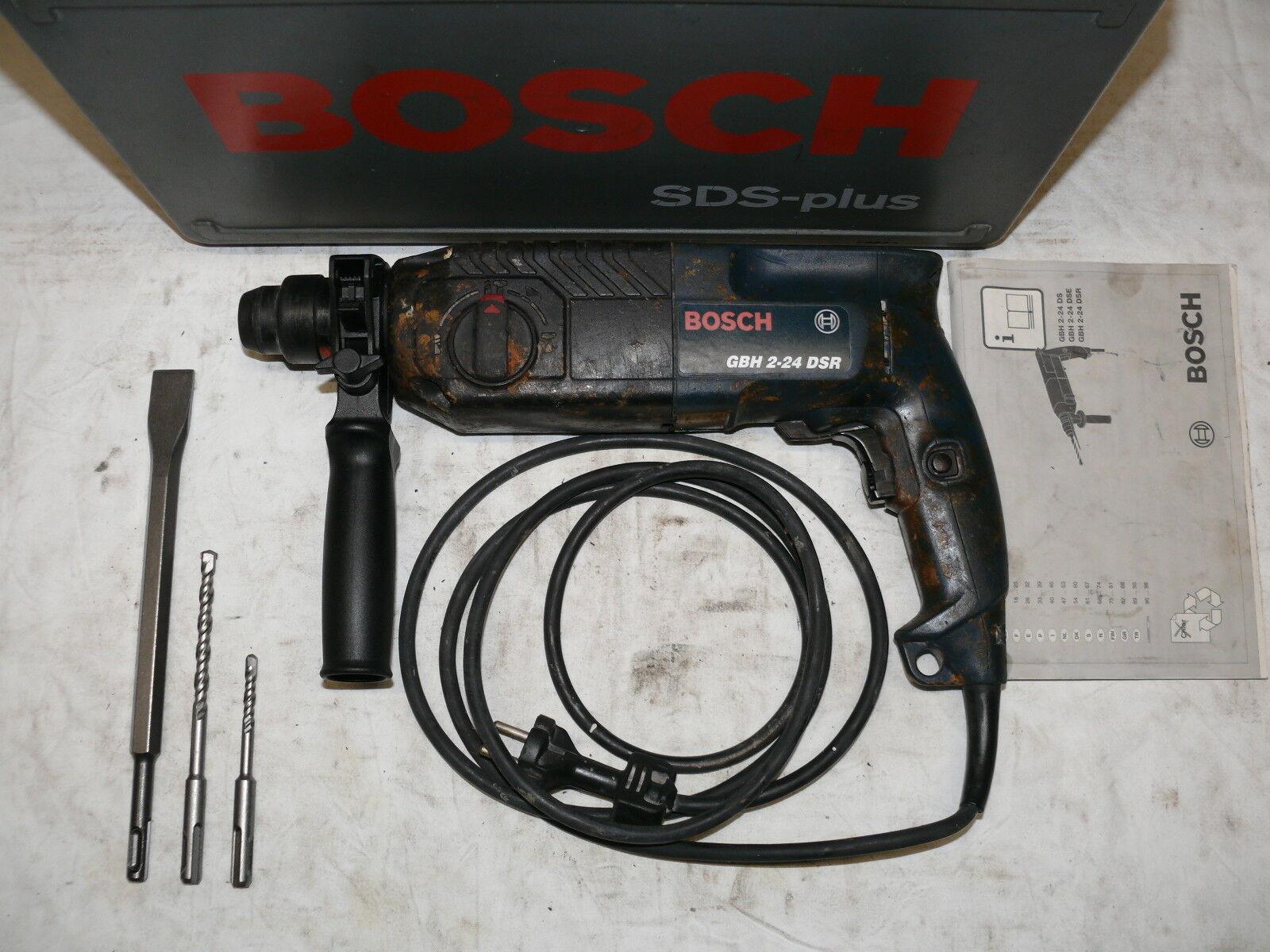 Bosch GBH 2-24 DSR BOHRHAMMER MEIßELHAMMER KOMBIHAMMER STEMMHAMMER ähnl. 2-26