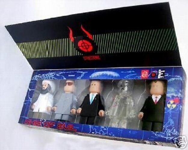 AXIS OF EVIL FIGURE SET BY PLASTICGOD SUPER RAD TOYS 2
