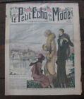 Novembre 1930 Le petit écho de la mode N°45 Au bord du Gave Illustré