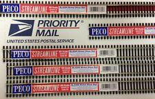 """PECO SL-8300 (5) HO Code 83 Flex Track  Five 36"""" Pieces Nickel Silver 552-SL8300"""
