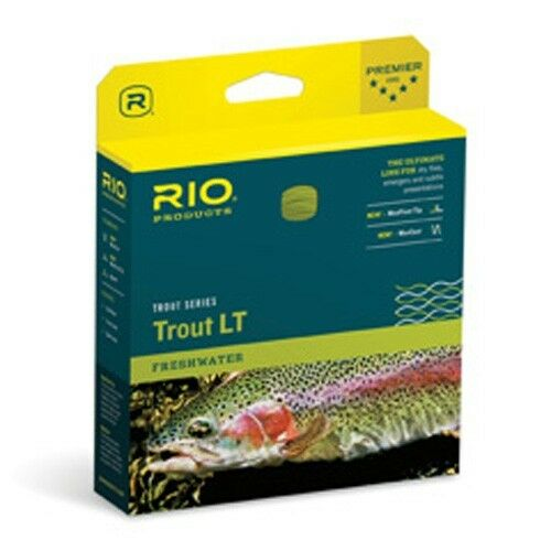 Rio Trout LT Fly Line WF7F NEW  in Box  Beige   Sage - CLOSEOUT  discount sales