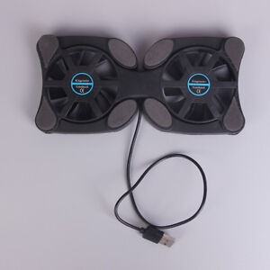 Laptop-mini-octop-usb-cooling-notebook-2-fans-cooler-pad-foldable-fan-10-034-14-Tw