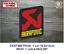 Sticker-Vinilo-Decal-Vinyl-Aufkleber-Adesivi-Autocollant-Akrapovic-Exhaust-LOGO2 miniatura 6