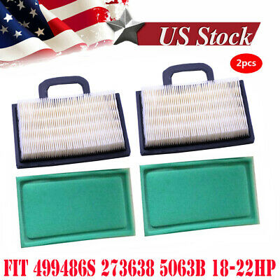 6x Air Filter+273638 Pre Filter for 499486S 273638 5063B//D