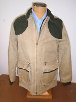 Filson Light Shooting Jacket Soy Waxed Cotton Medium $465 Tan Made In Usa