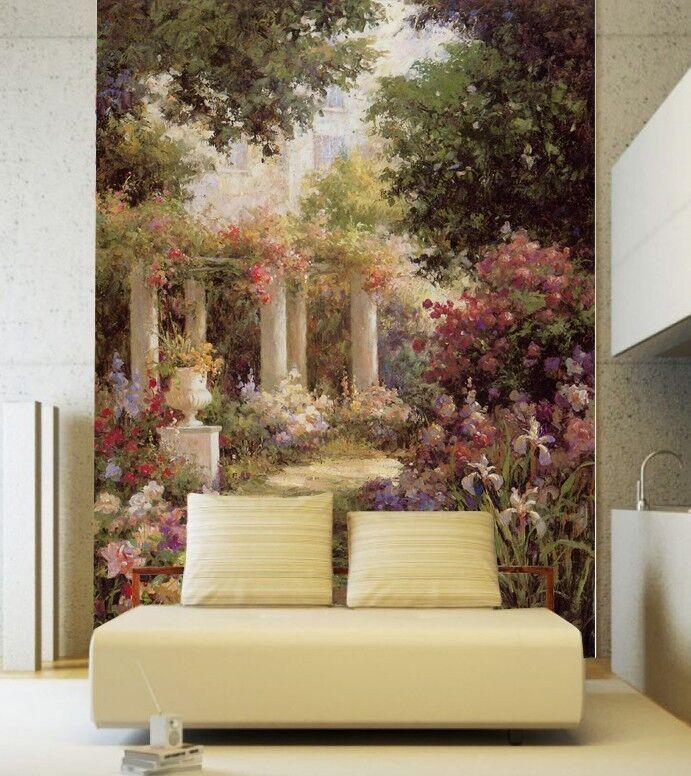 3D Gartenmalerei 73 Tapete Wandgemälde Tapete Tapeten Bild Familie DE Summer | Starker Wert  | Optimaler Preis  | Hat einen langen Ruf