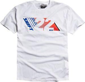 Fox Racing Mens Reed 22 Short Sleeve Basic Tee White S