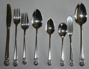 International Eternally Yours Silverplate Flatware CHOICE OF PIECES