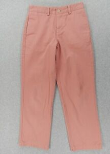 Vineyard Vines Flat Front Corduroy Pants Youth Large 14 nwt Free Shipping