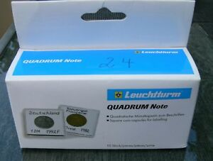 Muenzkapseln-QUADRUM-Note-24-mm-10er-Pack-Neu-in-OVP