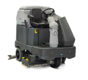 Nilfisk-Aufsitz-Scheuersaugmaschine-SC6500-1300S-KOMPLETT-BATTERIEN-ZUBEHOR