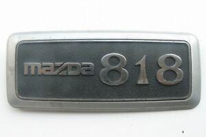 MAZDA-818-embleme-logo-insigne-monogramme-de-carrosserie-en-plastique