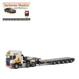 WSI 01-2220 Scania Streamline Topline 6x4 5 Axle Ainscough Crane Hire 1 50 Scale