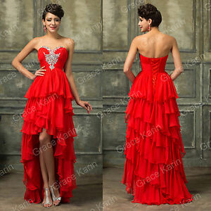 Short Bridesmaid Homecoming Evening Ball Gown Wedding Party Formal Prom Dresses