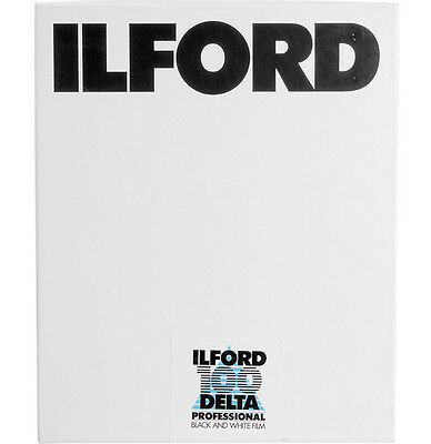 Ilford Delta 100 4x5 Sheet Film (25 Pack) **Free UK 1st P&P**