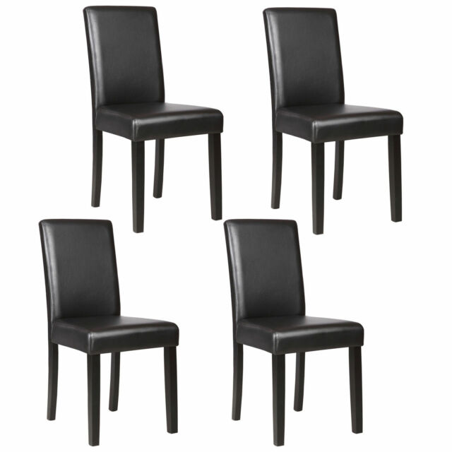 Contemporary Leather Dining Chair For Sale Online Ebay