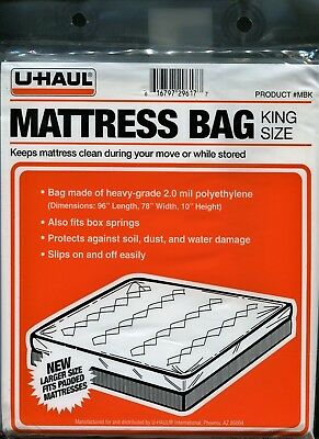 Uhaul Mattress Bag King Size 96 Quot X78 Quot X10 Quot Brand New Ebay