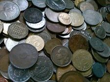 Lot of 300 + world treasure hunt coins. Over 300 random foreign coins #300-1