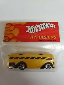 Hot-Wheels-HW-Designs-Surfin-039-School-Bus-RARE