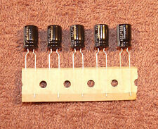 100uf / 100mfd - 35V - Electrolytic Capacitor - 5 pcs - RADIAL leads - NICHICON