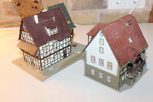 Fachwerkhaus-H0-HO-Stadthaeuser-Fachwerkhaeuser-Altstadthaus-Faller-Kibri-Vollmer