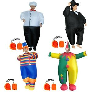 Adult-Cosplay-Chef-Big-Fat-039-s-Garments-Party-Inflatable-Carnival-Funny-Clothes-P