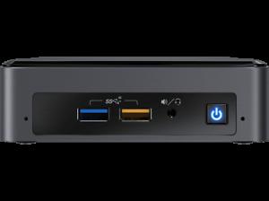 Mini PC - Intel® NUC8i3BEH, Intel® Core™ i3-8109U, 8 GB, 240 GB SSD, Iris® Plus