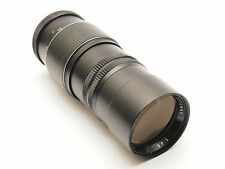 Optomax 200mm F4.5 PRESET T mount lens with M42 Adapter. stock No U2276