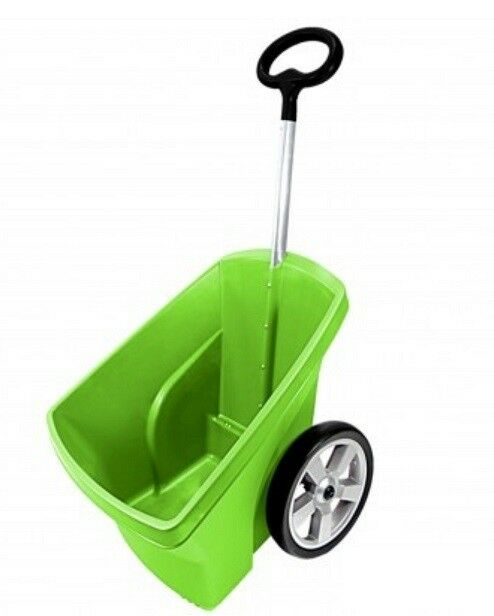 Schubkarre 67 Liter Gartenkarre Transportkarre Gartentrolly Handwagen Laubkarre