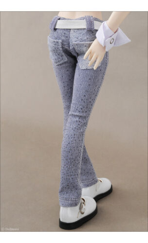 "Blue A1 Dollmore 17/"" 1//4BJD doll clothes MSD SIZE Bling Jean Pants"