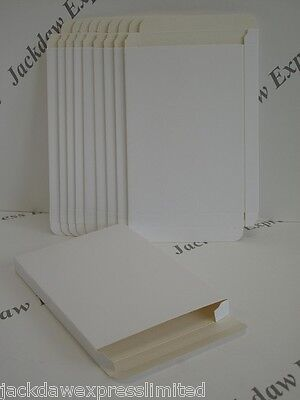 Envelope Box x 10 - Self Assembly White C6 to take A6 Cards AM179