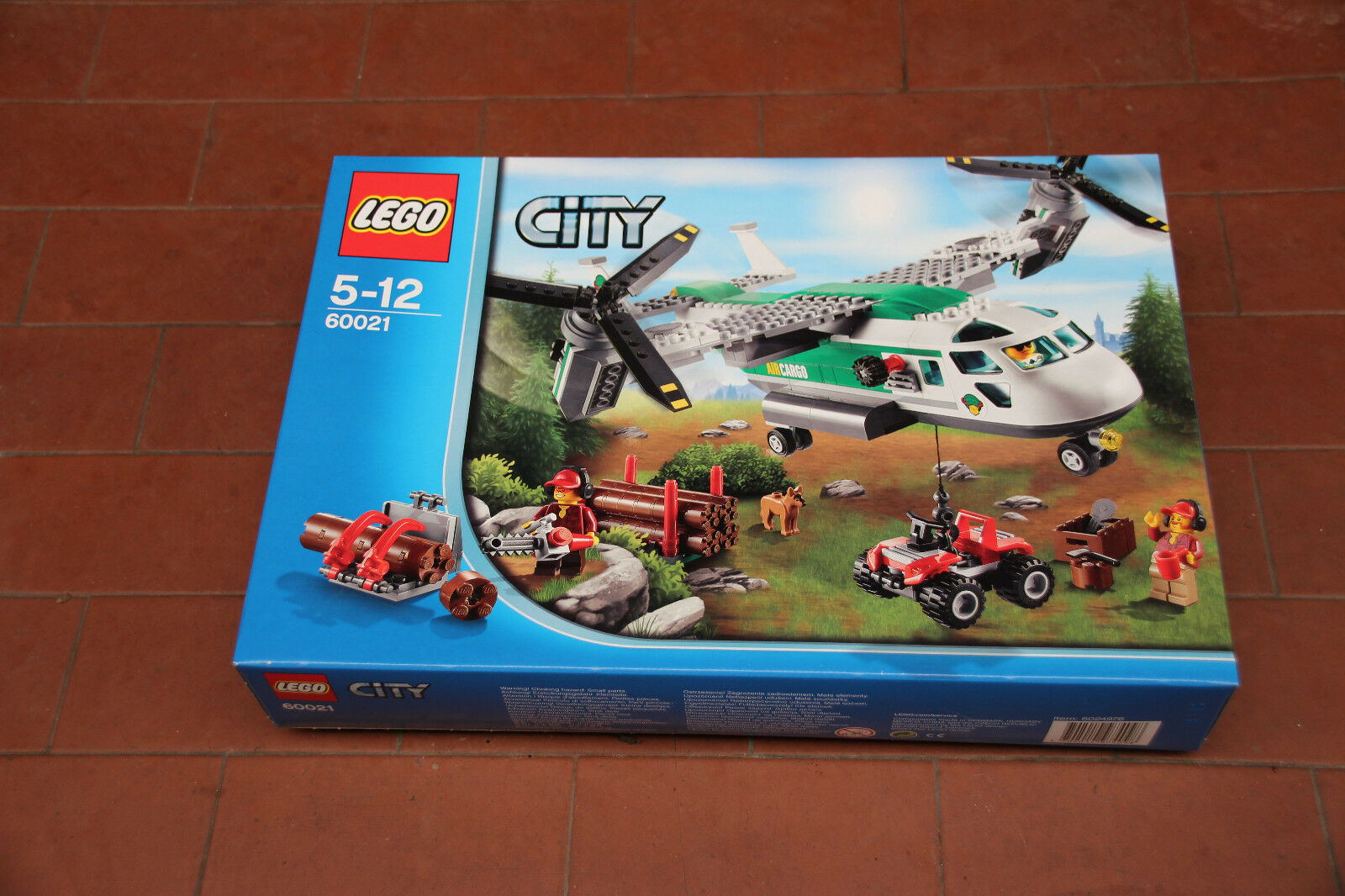 LEGO CITY 60021 Schwenkrotor-Flugzeug    NEU und ungeöffnet