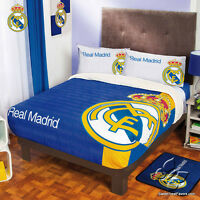 Real Madrid Fleece Decoration Sports Blanket Gift Comforter Twin/full 1pc Soccer