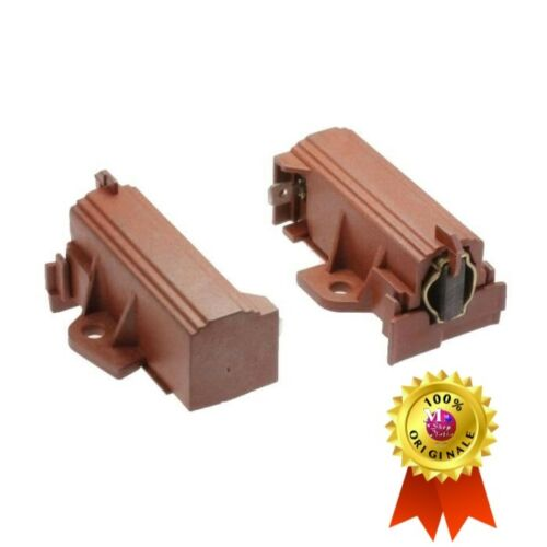 2 Spazzole Carboncini motore Candy Hoover ZW 49028931 49000466 ORIGINALE