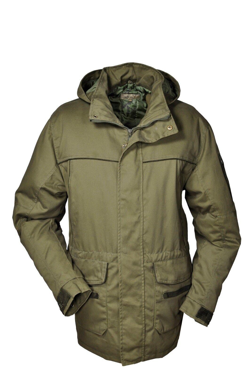 Hubertus caza chaqueta os30tex movimiento caza pirschjagd nuevo