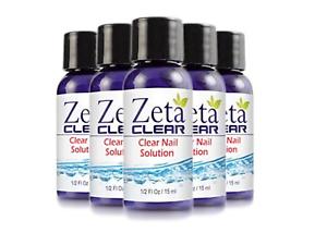 5x Zeta Clear Fungal Nail Treatment Kills 99 9 Of Nail Fungus