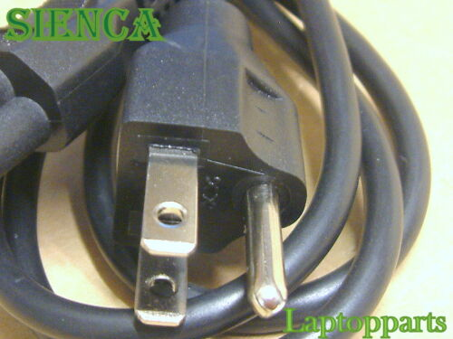 6 Feet 3 Prong Notebook Laptop Computer AC Power Cord for HP Dell Compaq Samsung