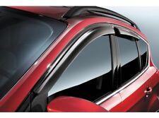 OEM NEW 13-16 Ford Escape Window Vent Shade - Rain Visor Guards - Self Adhesive