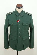 WWII German M42 heer summer HBT reed green field tunic L