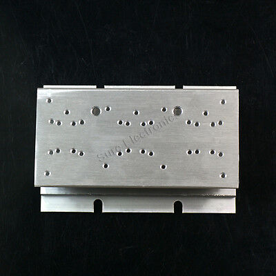 2pcs 2.4x4.7inch Aluminum Alloy Heat Sink for 1W//3W//5W//10W//20W LED Silver White