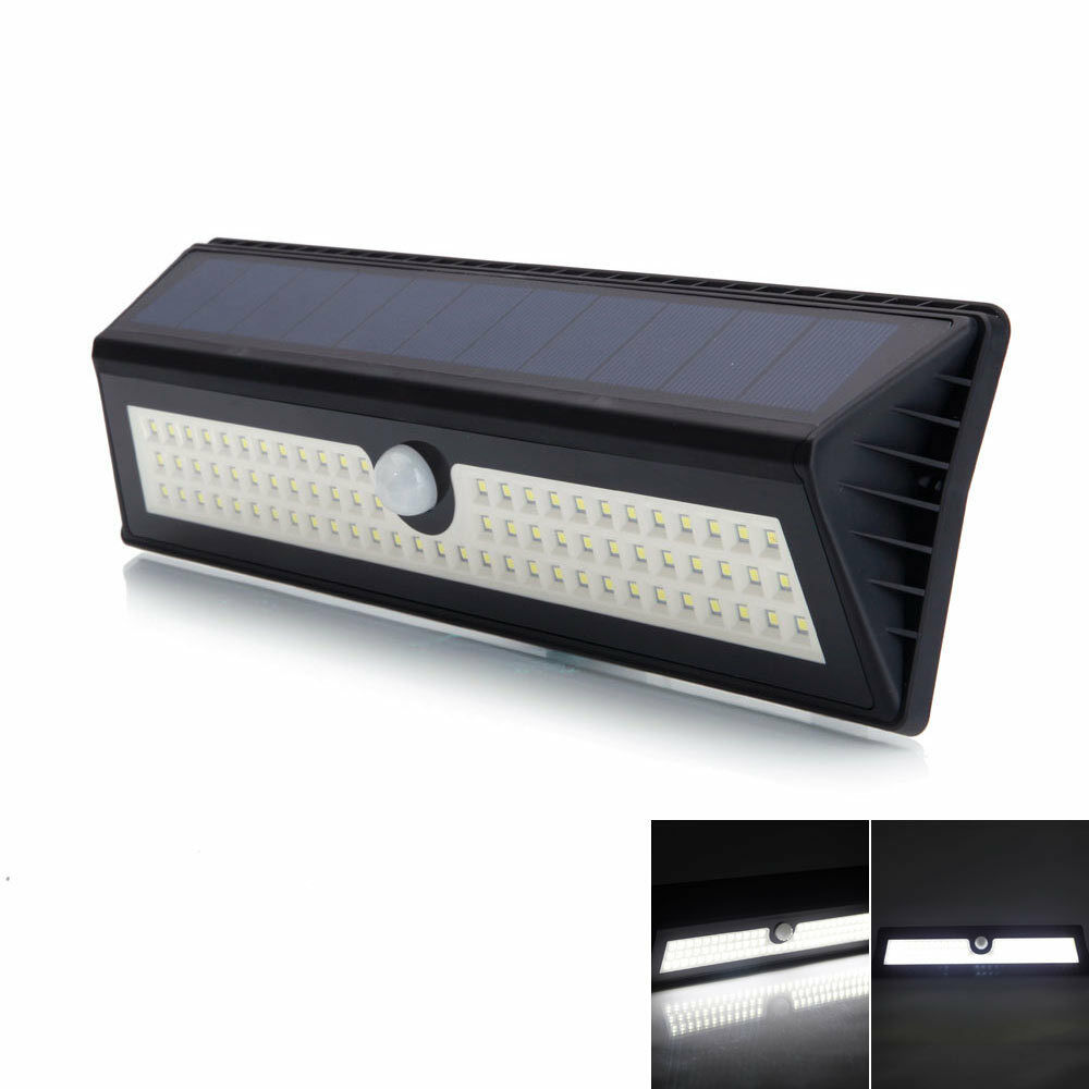 waterproof 42 led solar power motion sensor security light outdoor garden lamp ebay. Black Bedroom Furniture Sets. Home Design Ideas