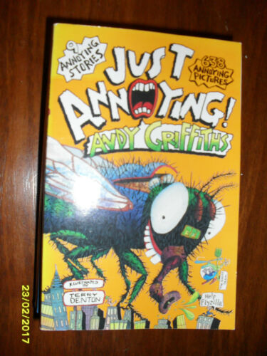 1 of 1 - JUST ANNOYING BY ANDY GRIFFITHS