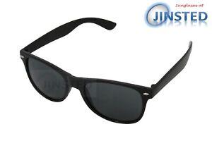 Bambini Nero Occhiali da Sole Wayfarer per Ragazzi Sunnies UV400 Cool KR004