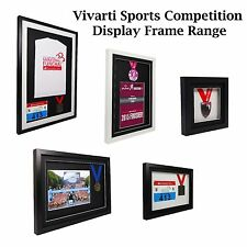 Vivarti Sports Shirt, Medal, Running Number Competition Display Picture Frame