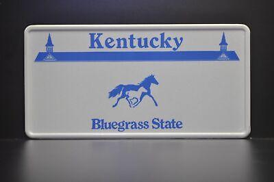 RANDOM NUMBERS Kentucky UNBRIDLED SPIRIT License Plate HORSE