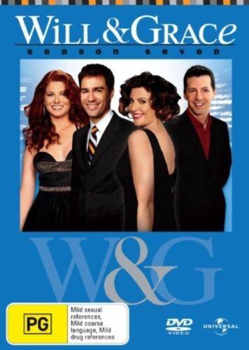 1 of 1 - Will & Grace : Season 7 (DVD, 2007, 4-Disc Set)