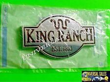 KING RANCH FORD F150 F250 F350 EMBLEM BADGE TAILGATE DOOR FENDER OEM NEW IN BAG