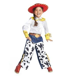 00949664a90a6 Disney JESSIE Toy Story Girls Cowgirl Western 3pc Halloween Costume ...